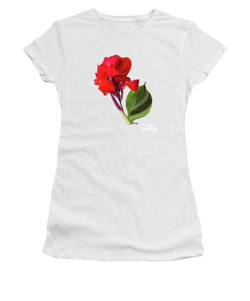 Tropical Bouquet-flower Three Women's T-Shirt