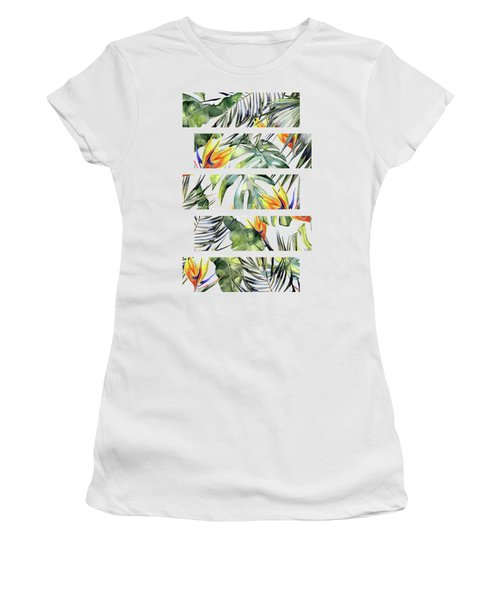 Tropical Garden Women's T-Shirt