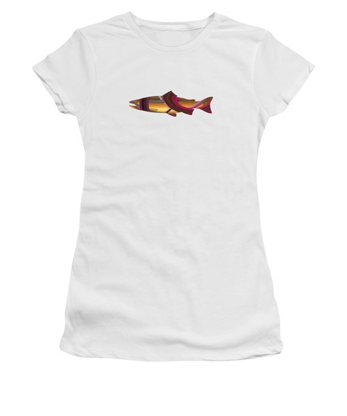 Trout In Pink Women's T-Shirt
