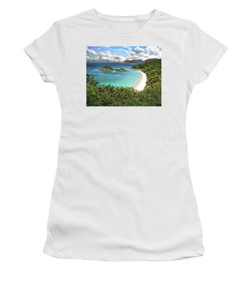 Trunk Bay Women's T-Shirt