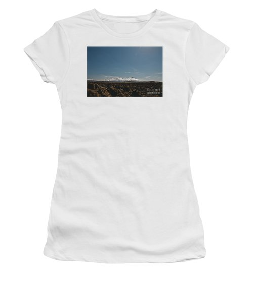 Turkish Landscapes With Snowy Mountains In The Background Women's T-Shirt