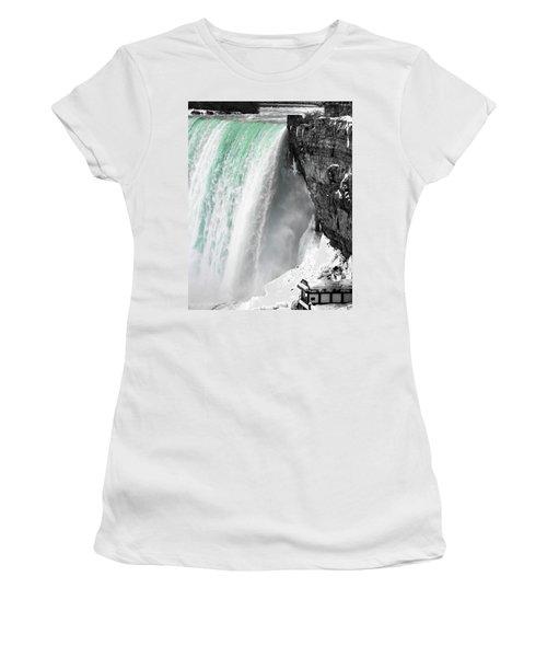 Turquoise Falls Women's T-Shirt
