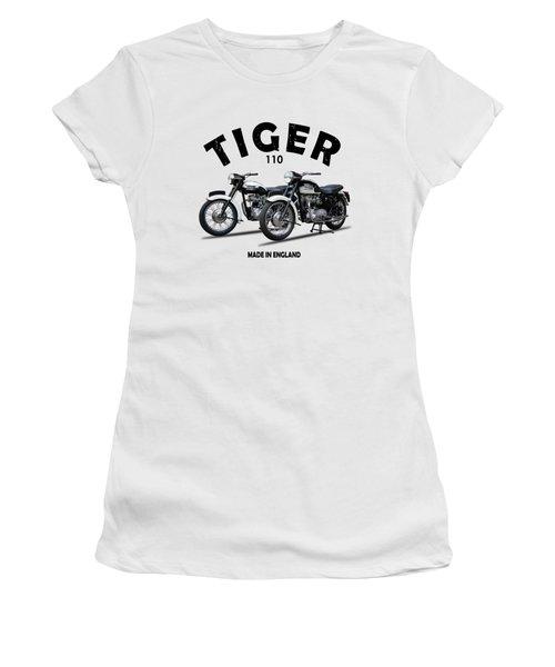 Two Triumph Tigers Women's T-Shirt