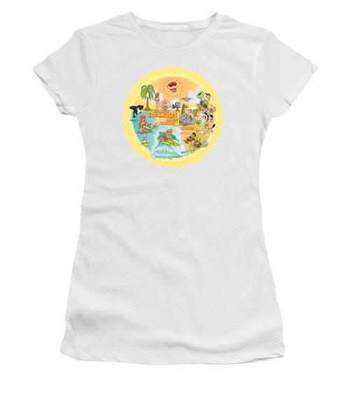 Ultimate Sunny California Beach Paradise Women's T-Shirt