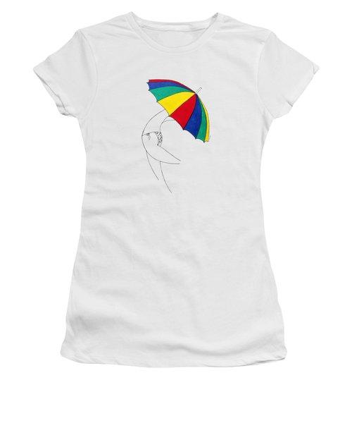 Umbrella Woman N1 Women's T-Shirt
