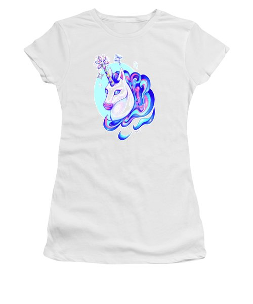 Unicorn Winter Women's T-Shirt