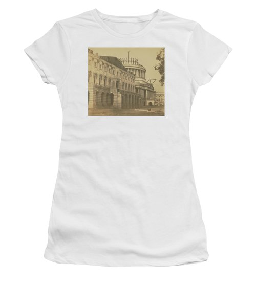 United States Capitol Under Construction Women's T-Shirt