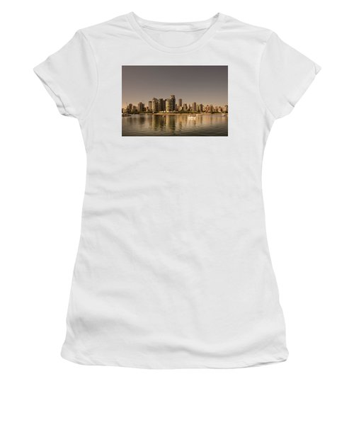 Vancouver Golden Light Hour Women's T-Shirt