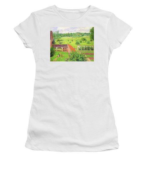 View From My Window, Eragny-sur-epte - Digital Remastered Edition Women's T-Shirt