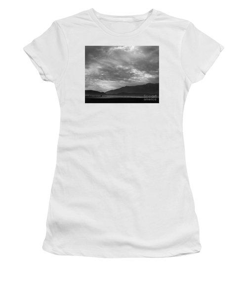 View Sw Over Manzanar, Dust Storm, California, 1943  Women's T-Shirt