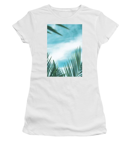 Vintage Palms II Women's T-Shirt