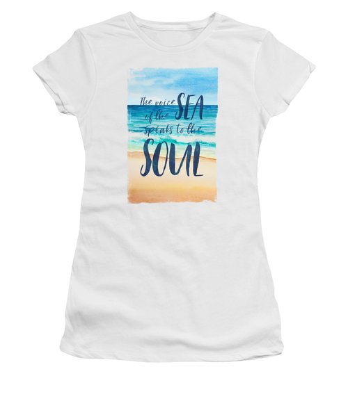 Voice Of The Sea Women's T-Shirt
