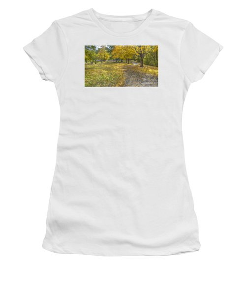 Walk In The Park @ Sharon Woods Women's T-Shirt (Athletic Fit)