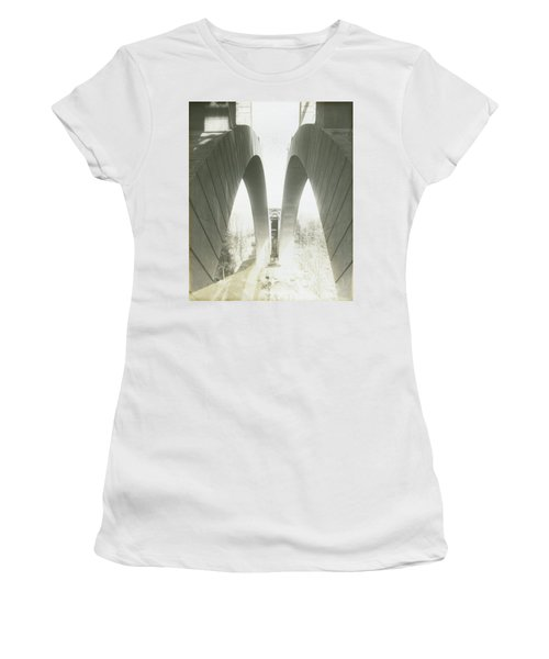 Walnut Lane Bridge Under Construction Women's T-Shirt