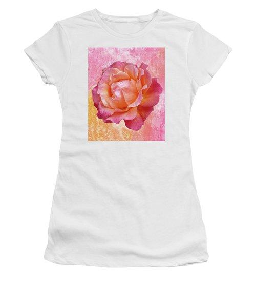 Warm And Crunchy Rose Women's T-Shirt