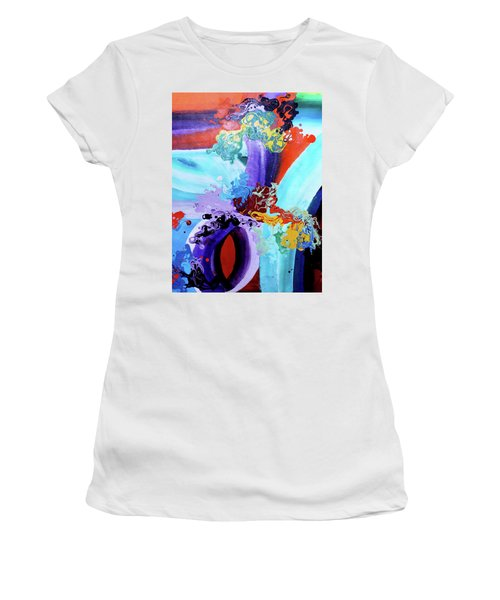 Watery Waves Women's T-Shirt