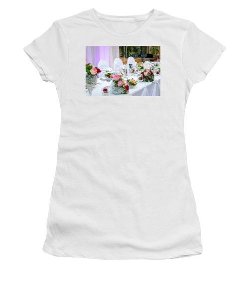 Wedding Table Women's T-Shirt