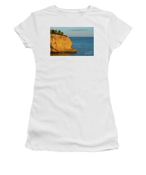 Where Land Ends In Carvoeiro Women's T-Shirt