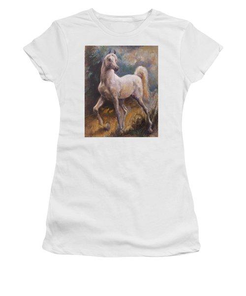 White Arabian Women's T-Shirt