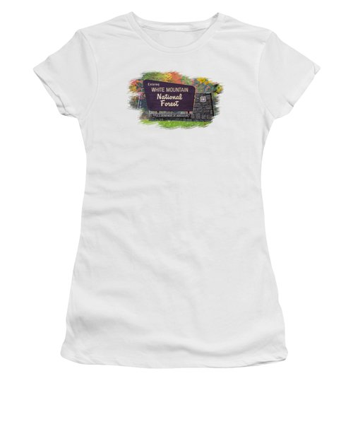 White Mountain National Forest Transparency Women's T-Shirt