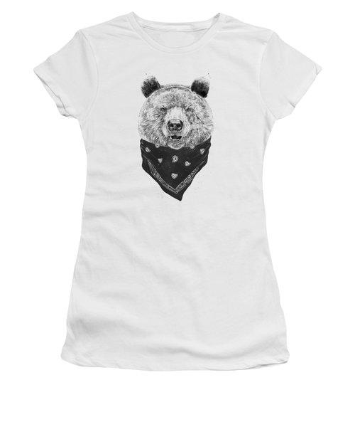 Wild Bear Women's T-Shirt (Athletic Fit)
