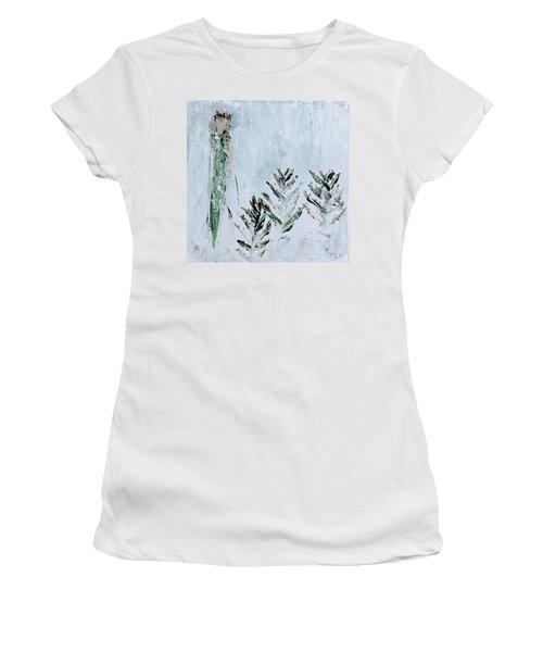 Winter Angel Women's T-Shirt