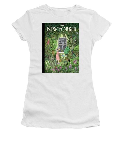 Winter Garden Women's T-Shirt