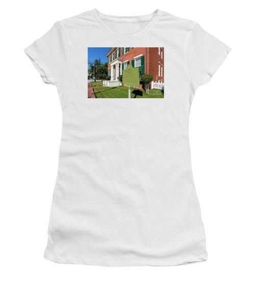 Woodrow Wilson Boyhood Home - Augusta Ga 1 Women's T-Shirt