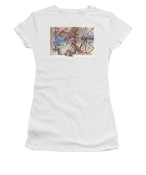Working Cotton The Old Fashioned Way Women's T-Shirt