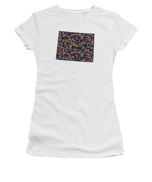Wyoming Map - 1 Women's T-Shirt