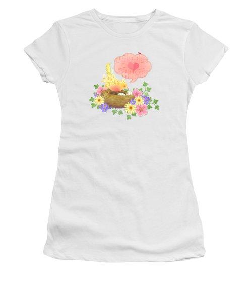 Yellow Bird's Love Song Women's T-Shirt