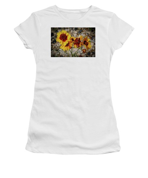 Yellow Wildflowers Women's T-Shirt