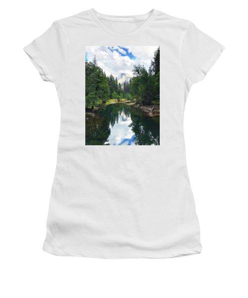 Yosemite Classical View Women's T-Shirt