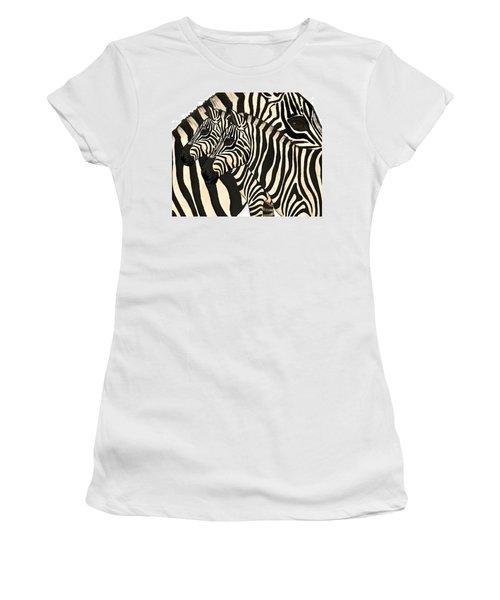 Z Is For Zebras Women's T-Shirt