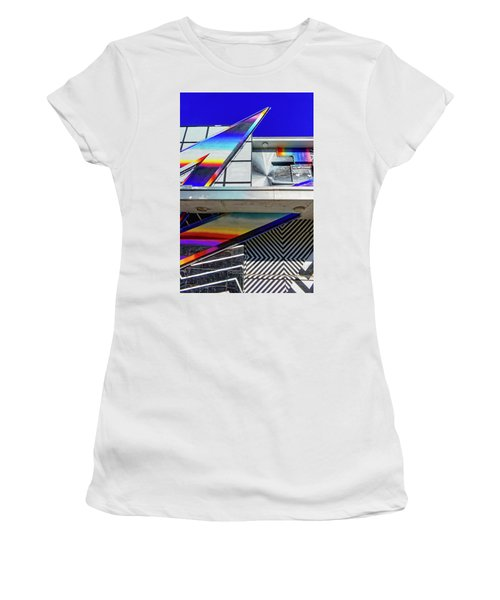 Women's T-Shirt featuring the photograph Zed by Skip Hunt