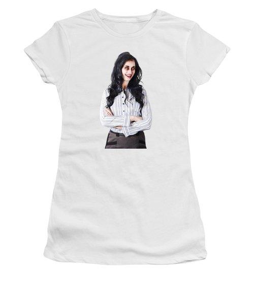 Zombie Businesswoman Women's T-Shirt