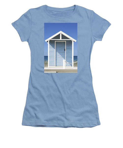 Beach Hut Women's T-Shirt (Athletic Fit)