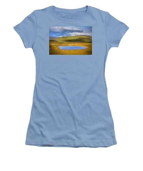 Patagonian Lakes Women's T-Shirt (Athletic Fit)