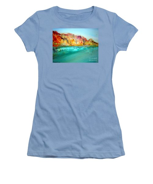 The Kimberly Australia Nt Women's T-Shirt (Athletic Fit)
