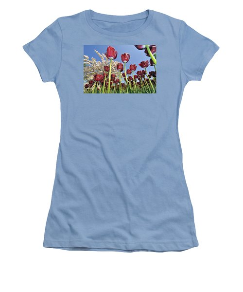 Women's T-Shirt (Junior Cut) featuring the photograph 090416p029 by Arterra Picture Library