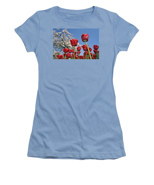 Women's T-Shirt (Junior Cut) featuring the photograph 090416p031 by Arterra Picture Library