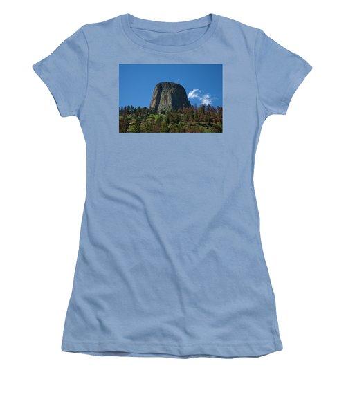 Devil's Tower Women's T-Shirt (Athletic Fit)