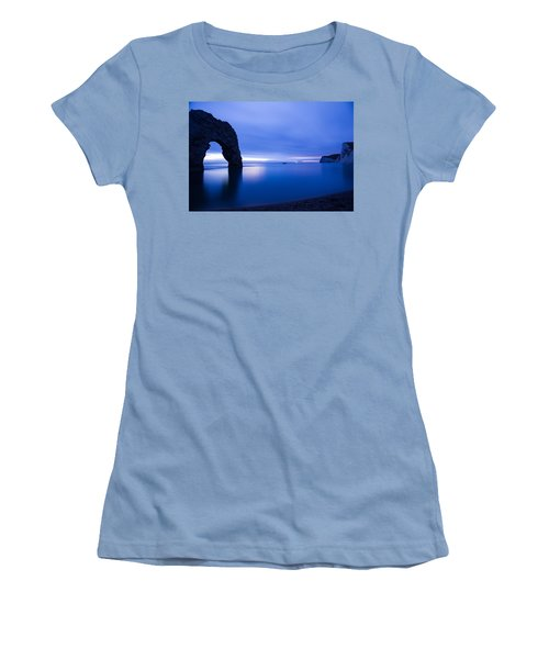 Durdle Door At Dusk Women's T-Shirt (Athletic Fit)