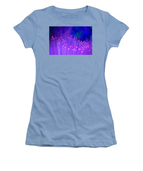 Women's T-Shirt (Junior Cut) featuring the photograph Electric Ladyland by Dazzle Zazz