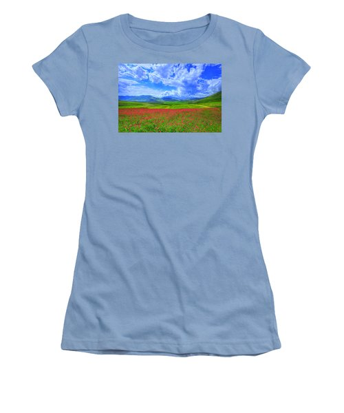 Fields Of Dreams Women's T-Shirt (Athletic Fit)