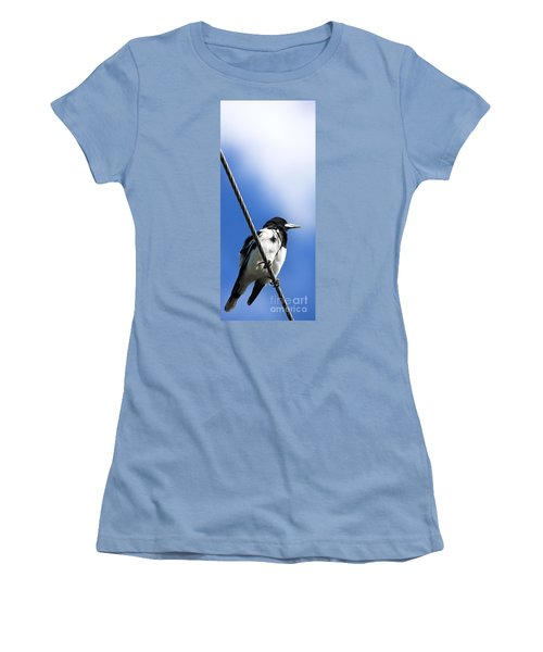 Magpie Up High Women's T-Shirt (Athletic Fit)