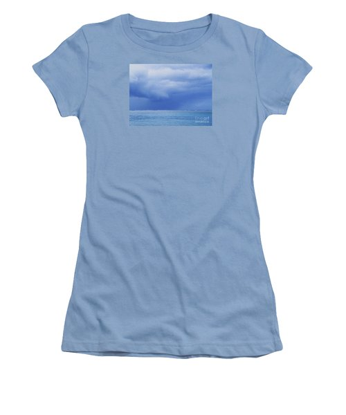 Women's T-Shirt (Junior Cut) featuring the photograph Tropical Storm by Roselynne Broussard
