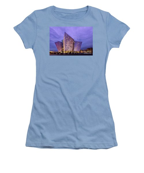 Unsinkable Women's T-Shirt (Athletic Fit)