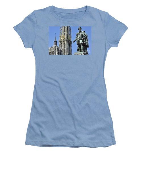 110801p238 Women's T-Shirt (Athletic Fit)