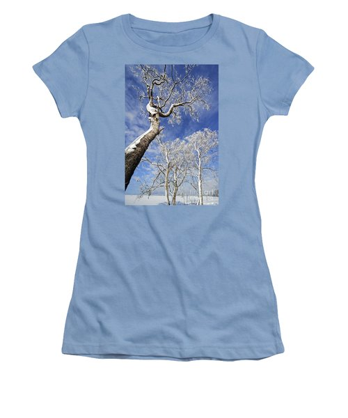 Women's T-Shirt (Junior Cut) featuring the photograph 130201p343 by Arterra Picture Library